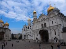 La place des cathèdrales du Kremlin