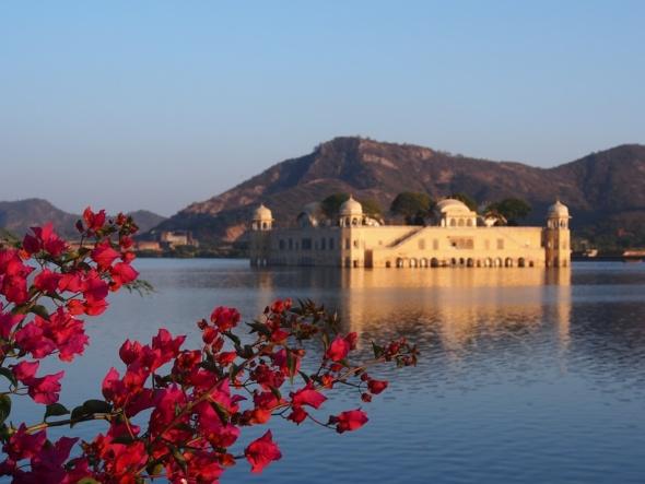 Le palais flottant de Jaipur
