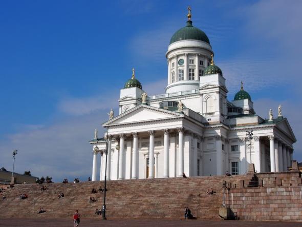 La cathédrale d'Helsinki, emblème de la ville