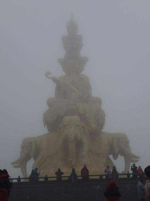 Sichuan, la tête dans les nuages