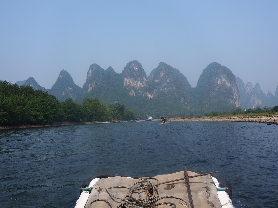 Guangxi : des pitons et du riz
