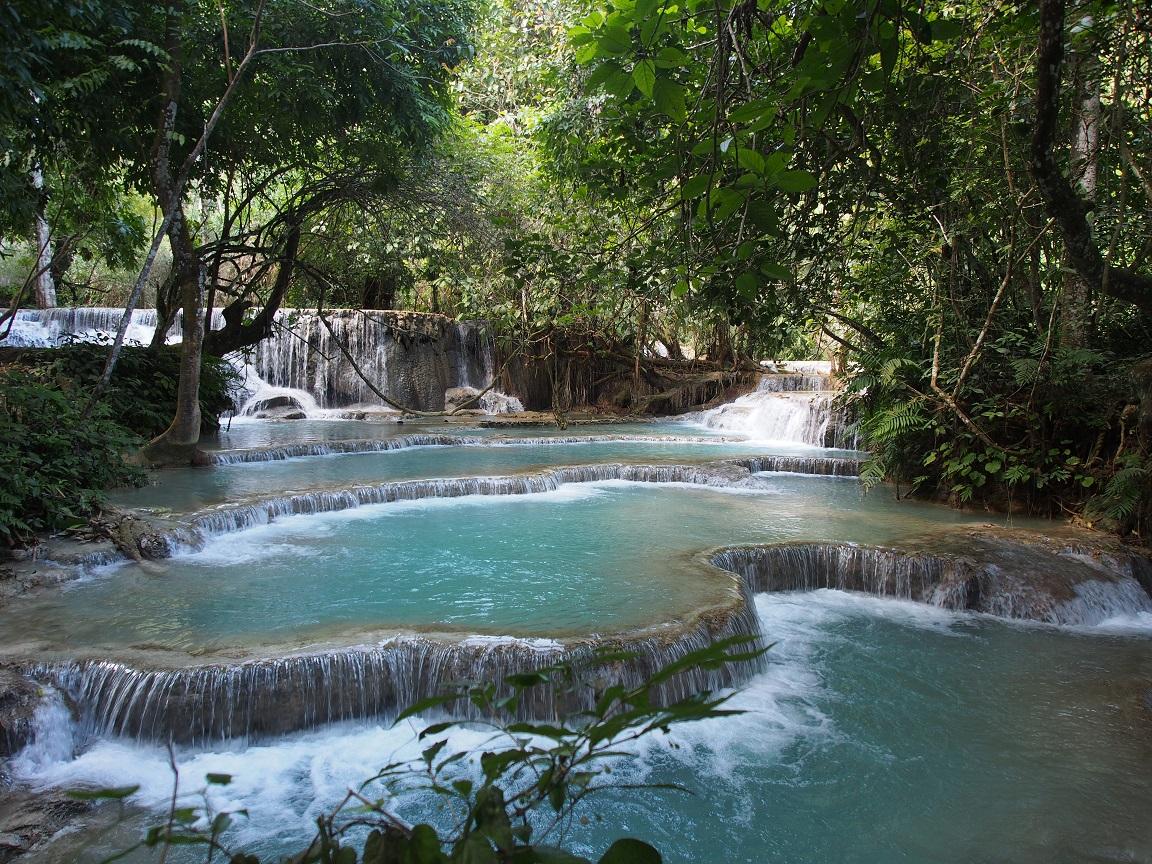 Laos : des cascades, un fleuve et des éléphants