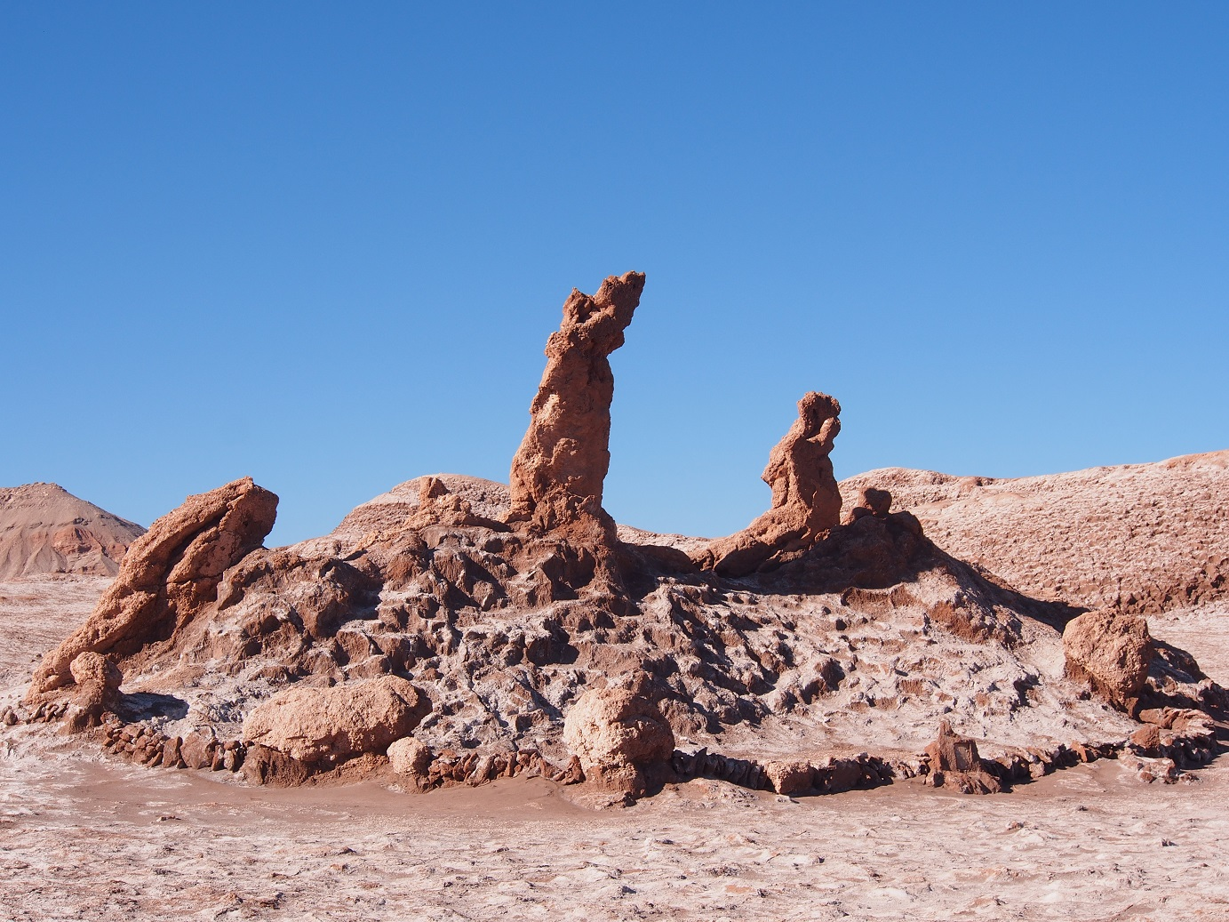 Le désert d'Atacama souffle le chaud et le froid