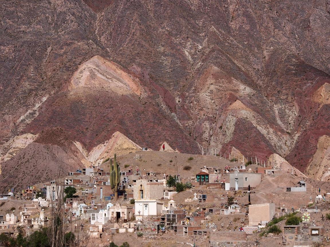 Les montagnes colorées de Quebrada Humahuaca