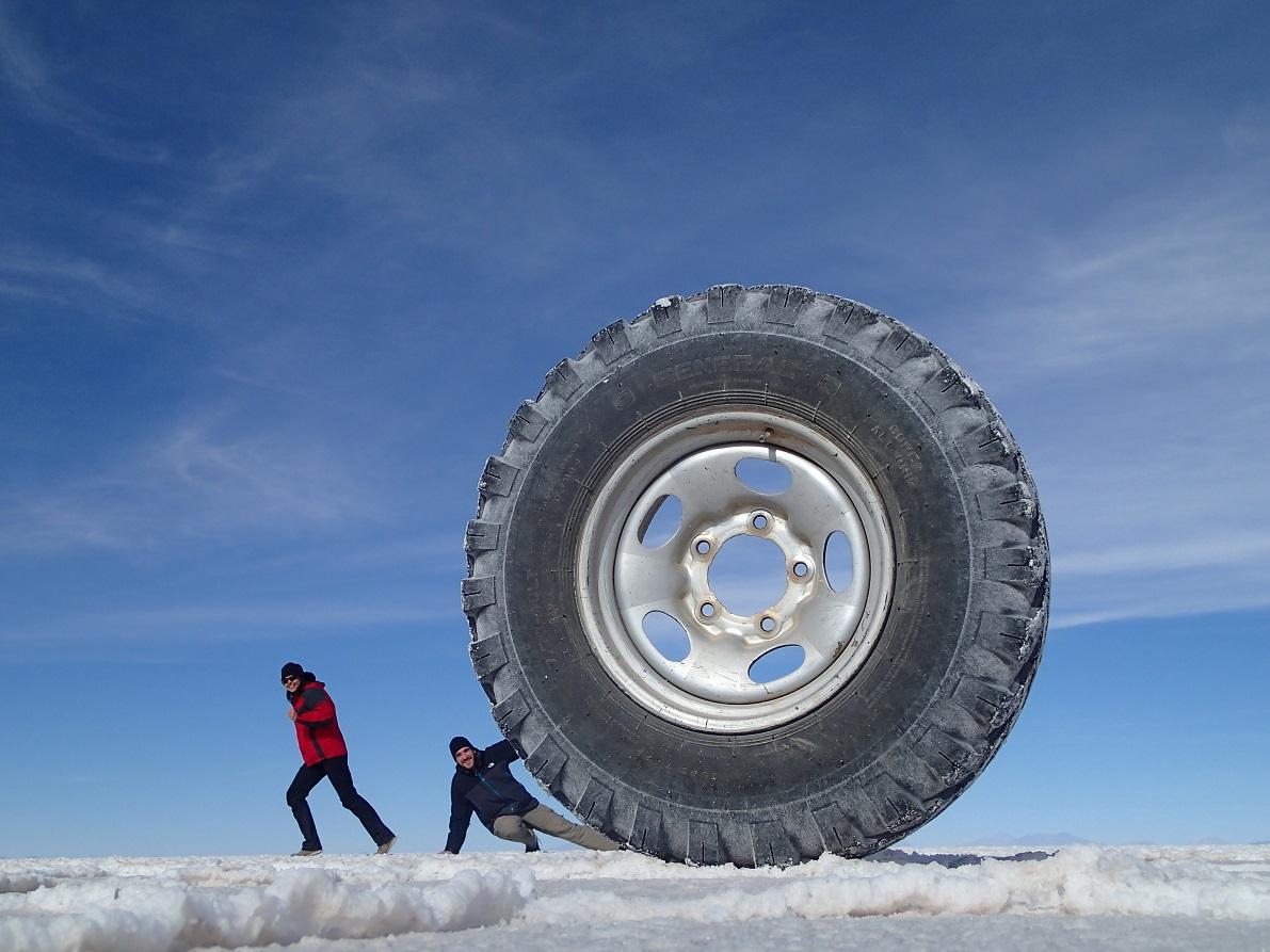 Oh non, une roue géante nous attaque !