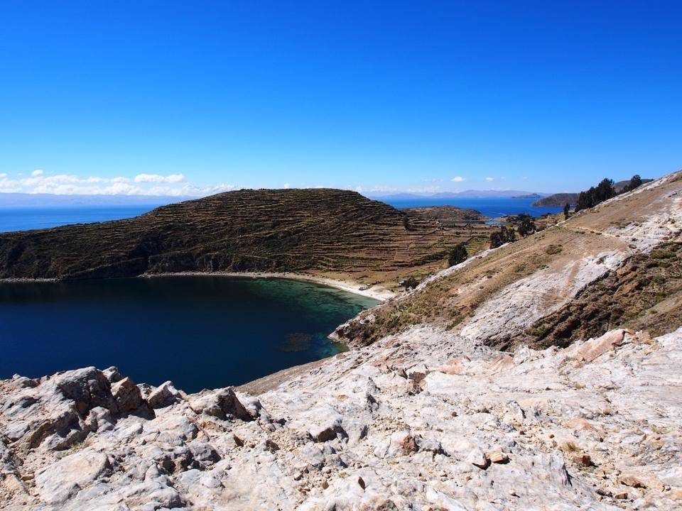 Lac Titicaca, bleu océan